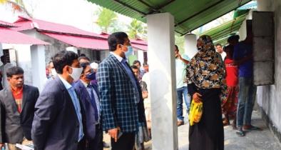 ভোলায় ৫২০ গৃহহীন পরিবার পাচ্ছে প্রধানমন্ত্রীর উপহার