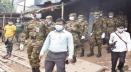 গাইবান্ধার পলাশবাড়ীতে লকডাউন বাস্তবায়নে মাঠে কাজ করছে যৌথ বাহিনী